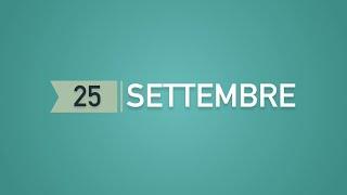 """Meditazione Calendario """"Parole di Vita"""" del 25 Settembre 2021"""