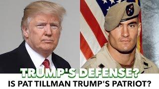 Trump Uses Pat Tillman As A Defense To NFL Backlash