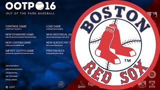 Out of the Park Baseball (OOTP) 16: Boston Red Sox - Showing off My Save