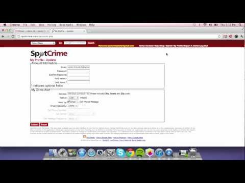 How To Update an Address for Your SpotCrime Email Alerts