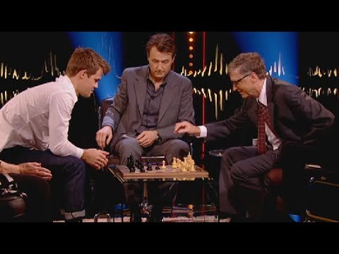 How Magnus Carlsen checkmated Bill Gates in 9 moves