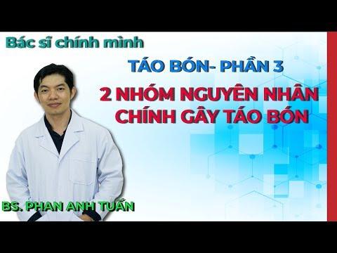 Táo bón - 2 nhóm nguyên nhân chính gây ra táo bón - Phần 3 | Bác Sĩ Chính Mình