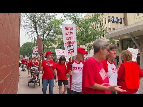More Calls For Bargaining After Day 2 Of Nurse Strike