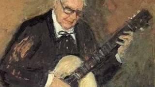 Bach - Bourrèe - Played by Andrès Segovia