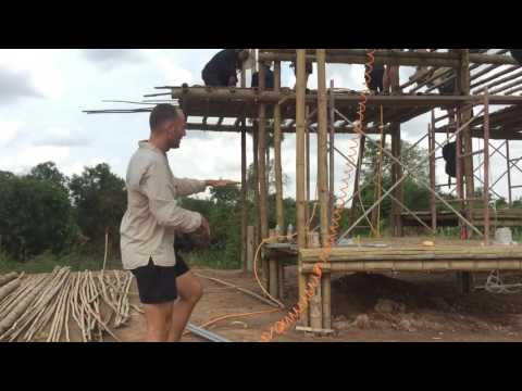 Every Piece Matters - First Bamboo House Build!