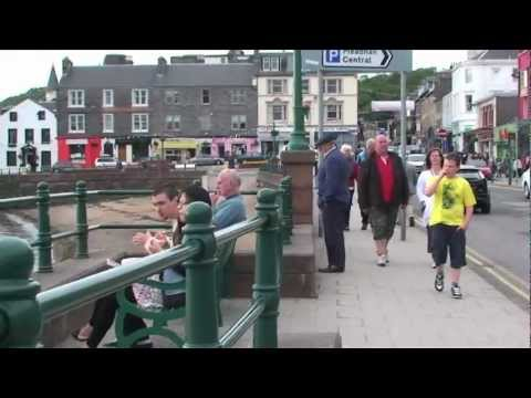 A walk in Oban and a look Inside St John's Cathedral, Argyll and Bute, Scotland, UK.