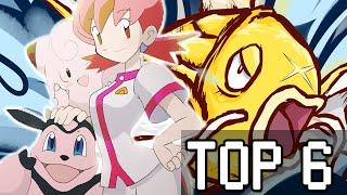 Top 6- Combates difíciles en Pokémon