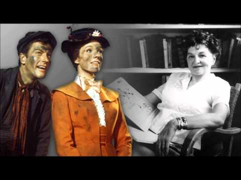 P.L. Travers   1961 Mary Poppins Meetings at Disney