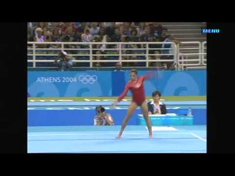 2004 Athens Olympics Womens Floor Final