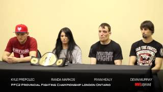 pfc 2 post fight press conference