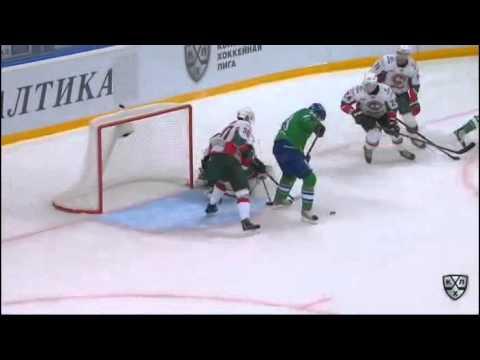 Салават Юлаев - АК Барс Победный гол серии плей-офф