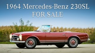 1964 Mercedes Benz 230SL - FOR SALE by Custom Classics