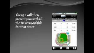 How to use your free Mobile Ticket App for Peak Seats - Concert, Sports and Theater tickets