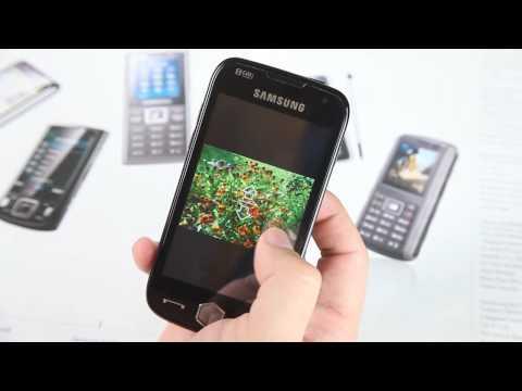TouchWiz UI on Samsung Omnia II