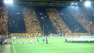 Borussia Dortmund v Arsenal | Club anthem and Champions League tune
