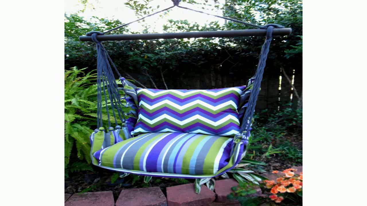 Hammock Chair Hanging Rope Chair Porch Swing Outdoor