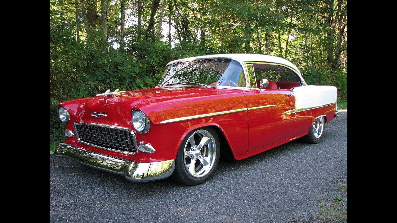 All Chevy 55 chevy for sale : 1955 Chevrolet Belair 502 BBC Hot Rod Art Morrison Chassis Walk ...