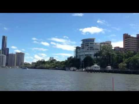 City Cat trip down the Brisbane river.