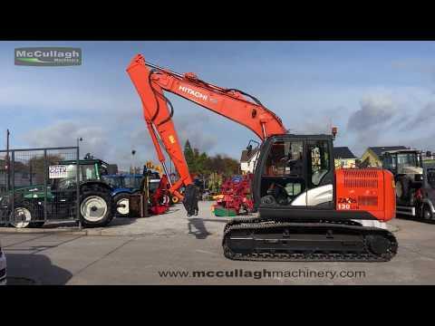 2013 Hitachi Zaxis 130LCN