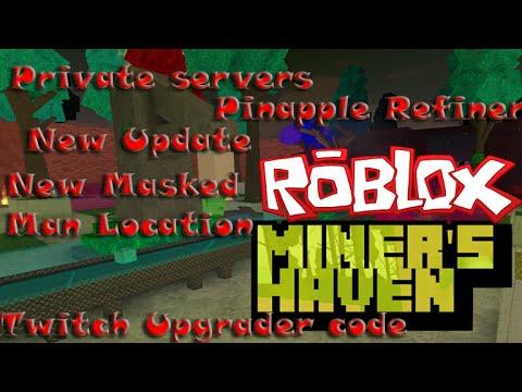 New Miner's Haven update! (Pineapple refiner, Twitch upgrade, Vip server, Excalibur & Crate Storm!)