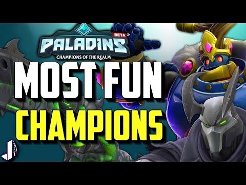 PALADINS Top 5 Most Fun Champions