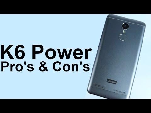 Lenovo K6 Power Pro