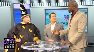 James Corden Invades the NFL Network