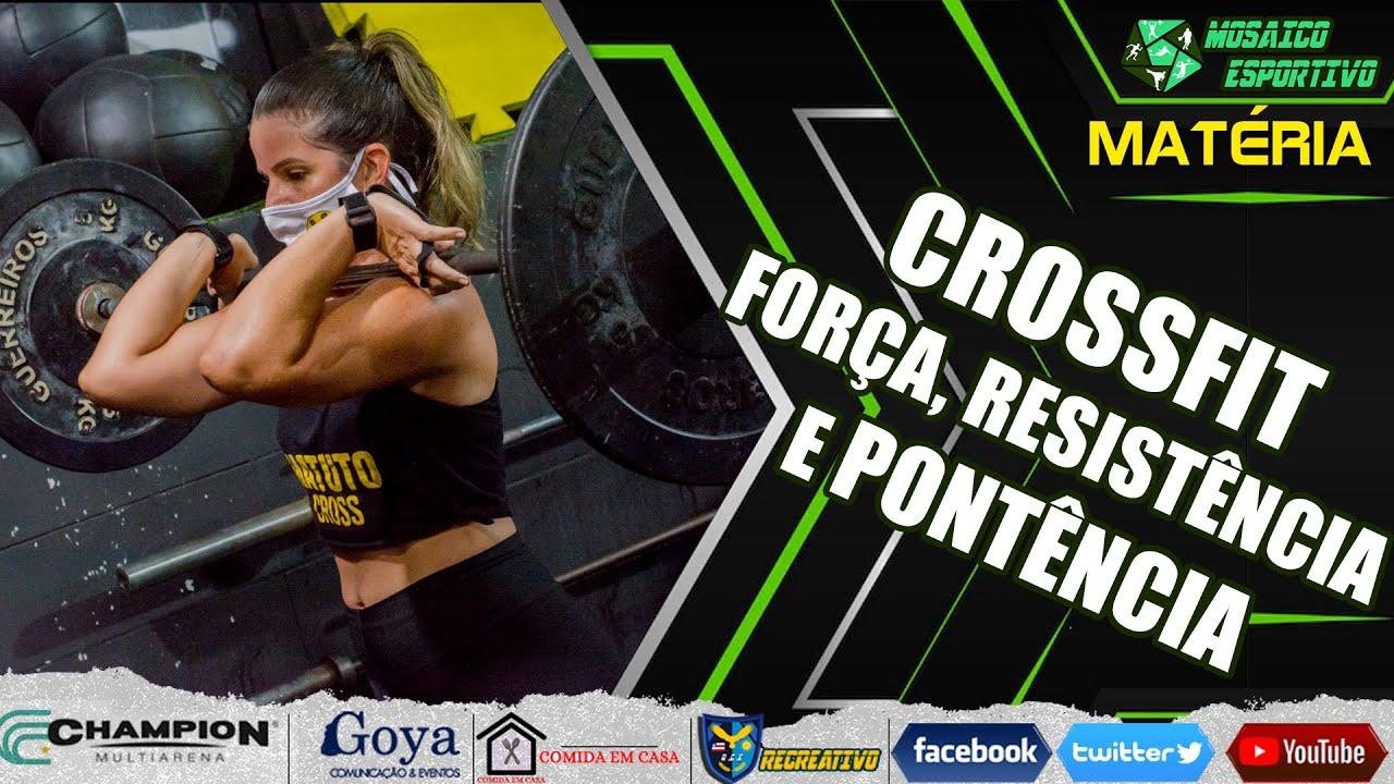 Crossfit - Forçar, resistência e potência