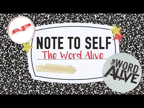 Note to self: THE WORD A share advice for pursuing music