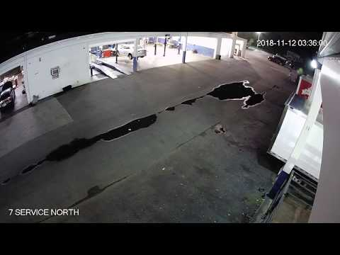 Night Hawk Monitoring - Auto Dealership Security - How to Jump a Fence