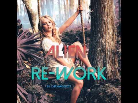Britney Spears - Alien (Recording Session Re-Work) [Raw Vocals] [No AutoTune]