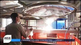 Energie Solaire de 3 000 °C ou comment fabriquer de l'electricité jour et nuit.