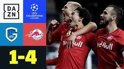 Genk lädt ein: Salzburg in 99 Sekunden zum Sieg: Genk - Salzburg 1:4   UEFA Champions League   DAZN