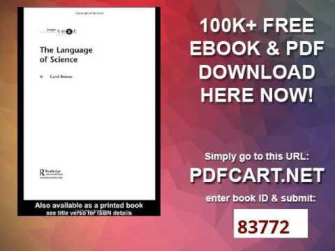 The Language of Science (Intertext)