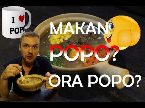Claypot Popo (Pantat Dlm Bhs Jerman)Jakarta BuleKulineran| FVLOG #65