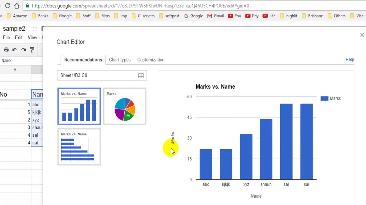 How to change  and  axis labels in google spreadsheet also youtube rh