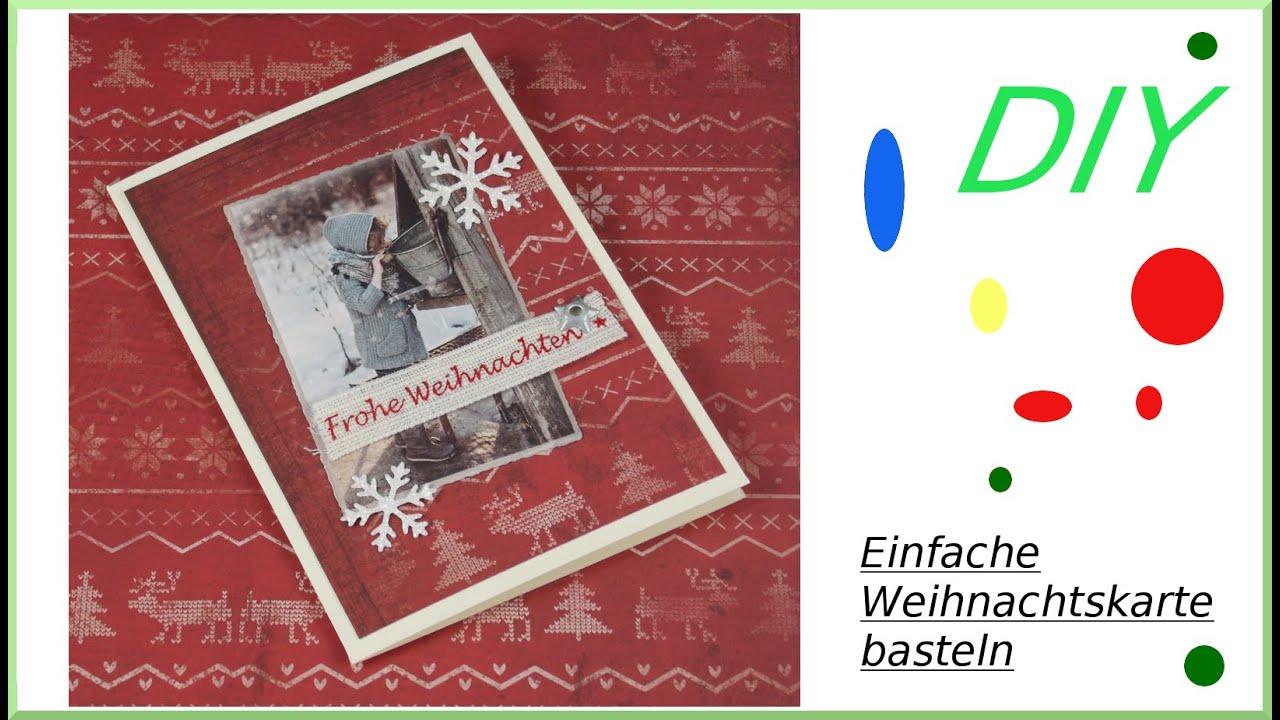 Malerisch Edle Weihnachtskarten Basteln Foto Von Weihnachtskarte Einfache Schnell Selber Diy Cardmaking [deutsch]