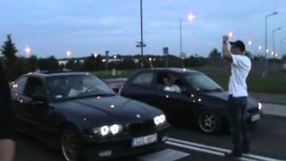 BMW E36 vs Opel corsa