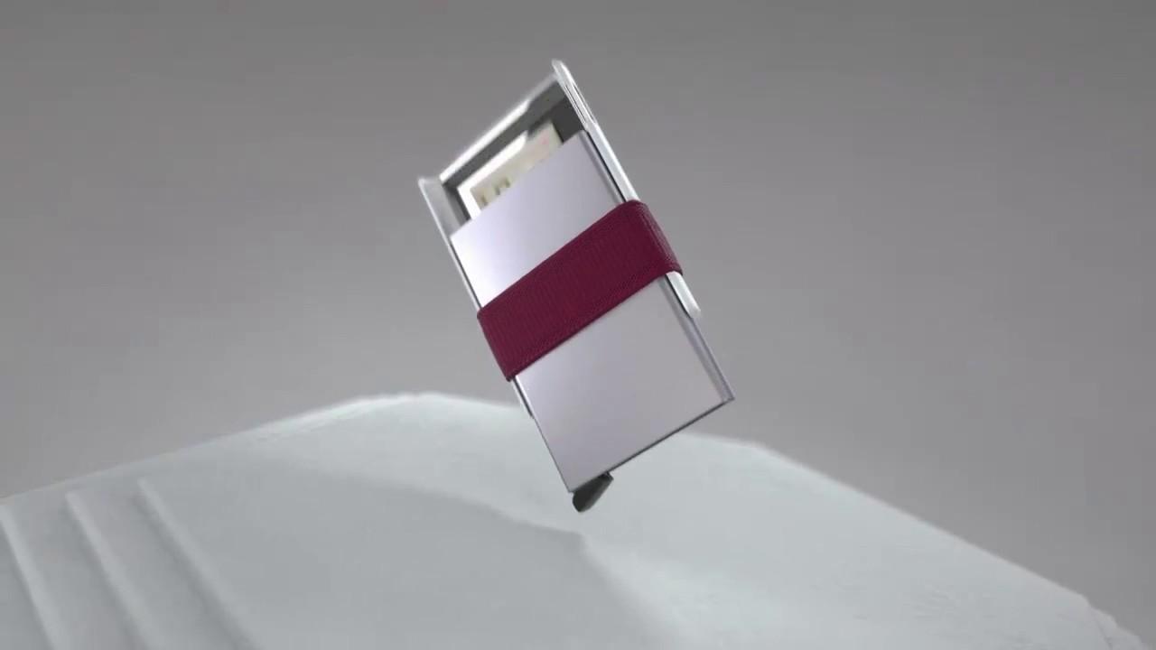 ba2fccb871 Secrid Cardslide Scarcella Pelletterie - YouTube