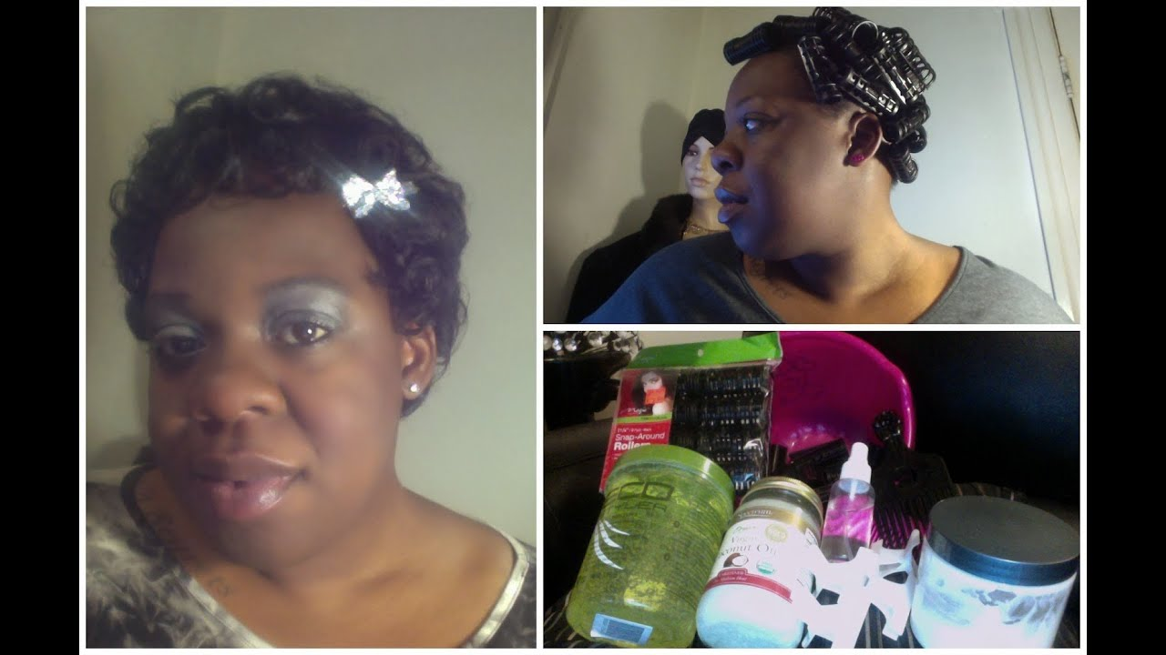 Hair Rollers For Short Natural Hair