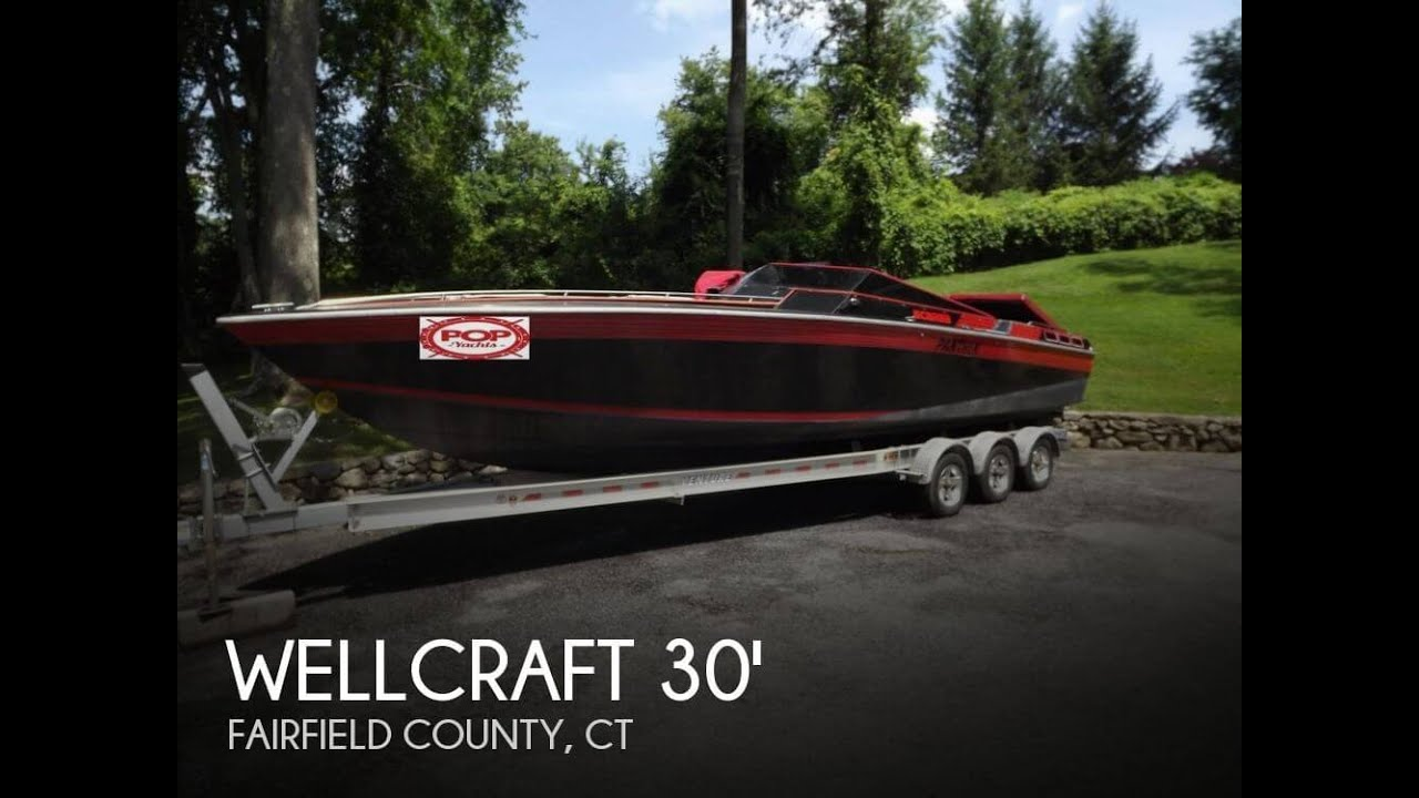 UNAVAILABLE Used 1986 Scarab 30 Panther In New Canaan Connecticut YouTube