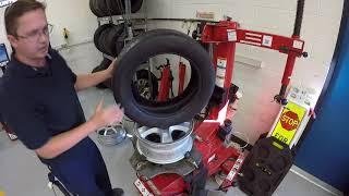 Tire Machine Alloy Rim