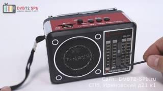 LUXEBASS A47 - обзор радиоприёмника с USB и SD