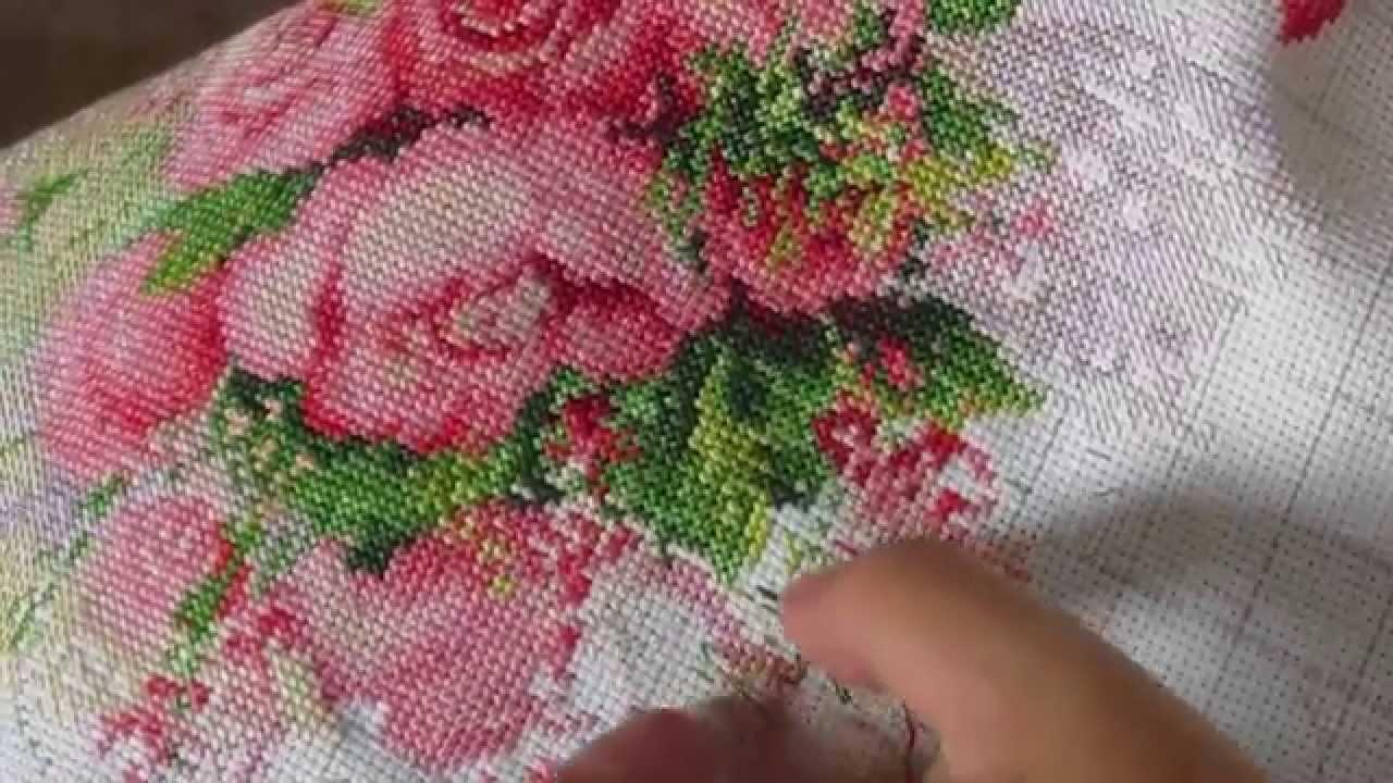Вышивка крестом от риолис акварельные