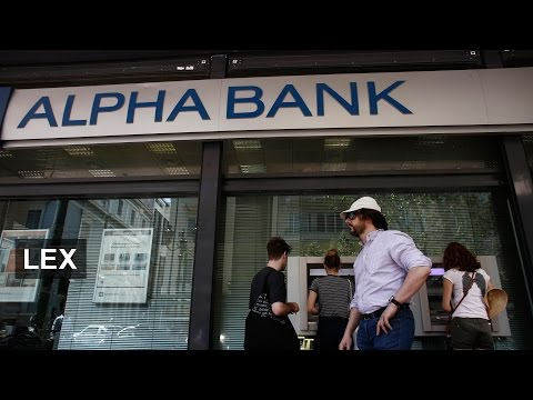 Greek Banks Put On a Brave Face | Lex