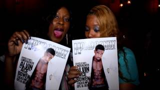 Repeat youtube video NFL/CFL Linebacker Alvin Bowen's Hard Candy Magazine Cover Reveal Event In NYC