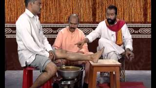 Repeat youtube video Ayurvedic Remedies for Knee Pains - Remedy 1 - By Panditha Elchuri