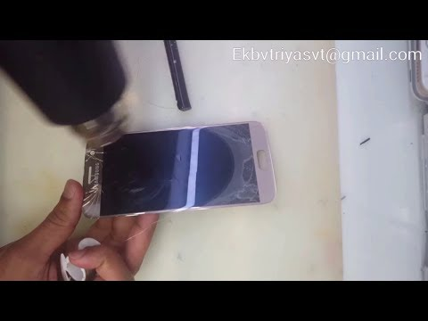 Samsung Galaxy S7 Glass Only Repair Replacement Service  (touch Glass Change)