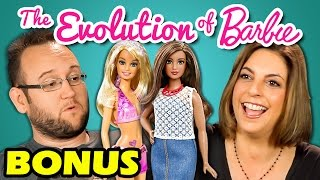 PARENTS REACT TO NEW BARBIE DOLL COMMERCIAL (Bonus #4)