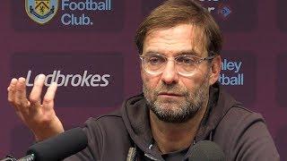 Burnley 1-3 Liverpool - Jurgen Klopp Full Post Match Press Conference - Premier League
